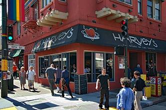 Harvey's Restaurant Castro San Francisoc CA